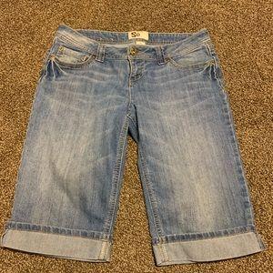 Jean Bermuda shorts